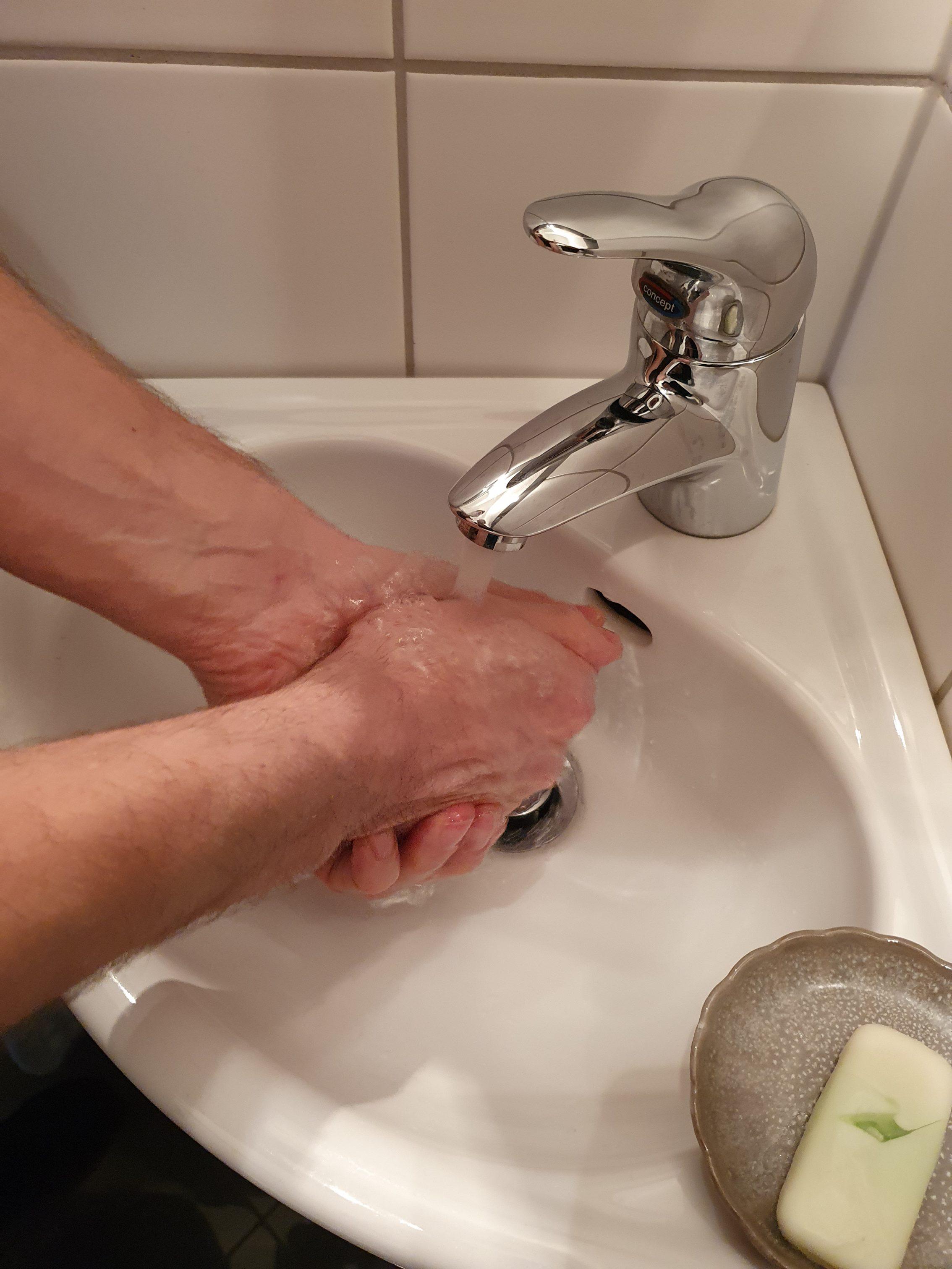 Händewaschen zur Vermeidung von Infektionen