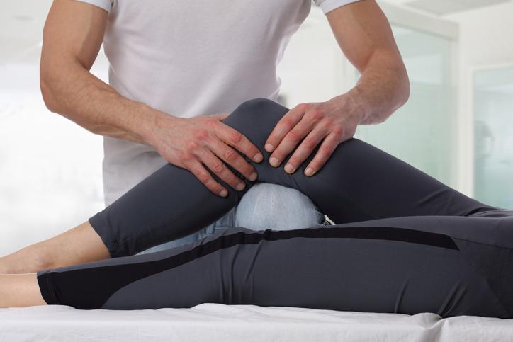 Physiotherapie am Patienten